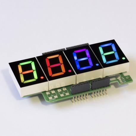 RGBDigit Shield 4x 1'RGBDigit Partlis