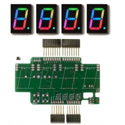 RGBDigit Shield 4x 1'RGBDigit DIY