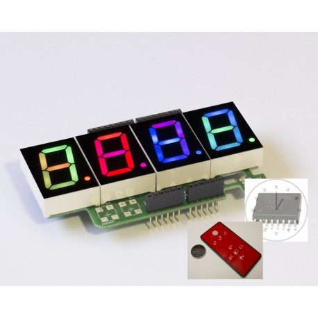 RGBDigit Base + CLock + IR set