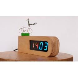 Wooden RGB clock